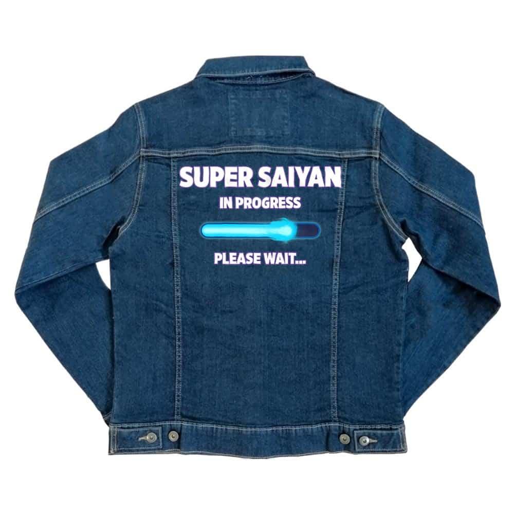Super Saiyan in progress Unisex Farmerkabát