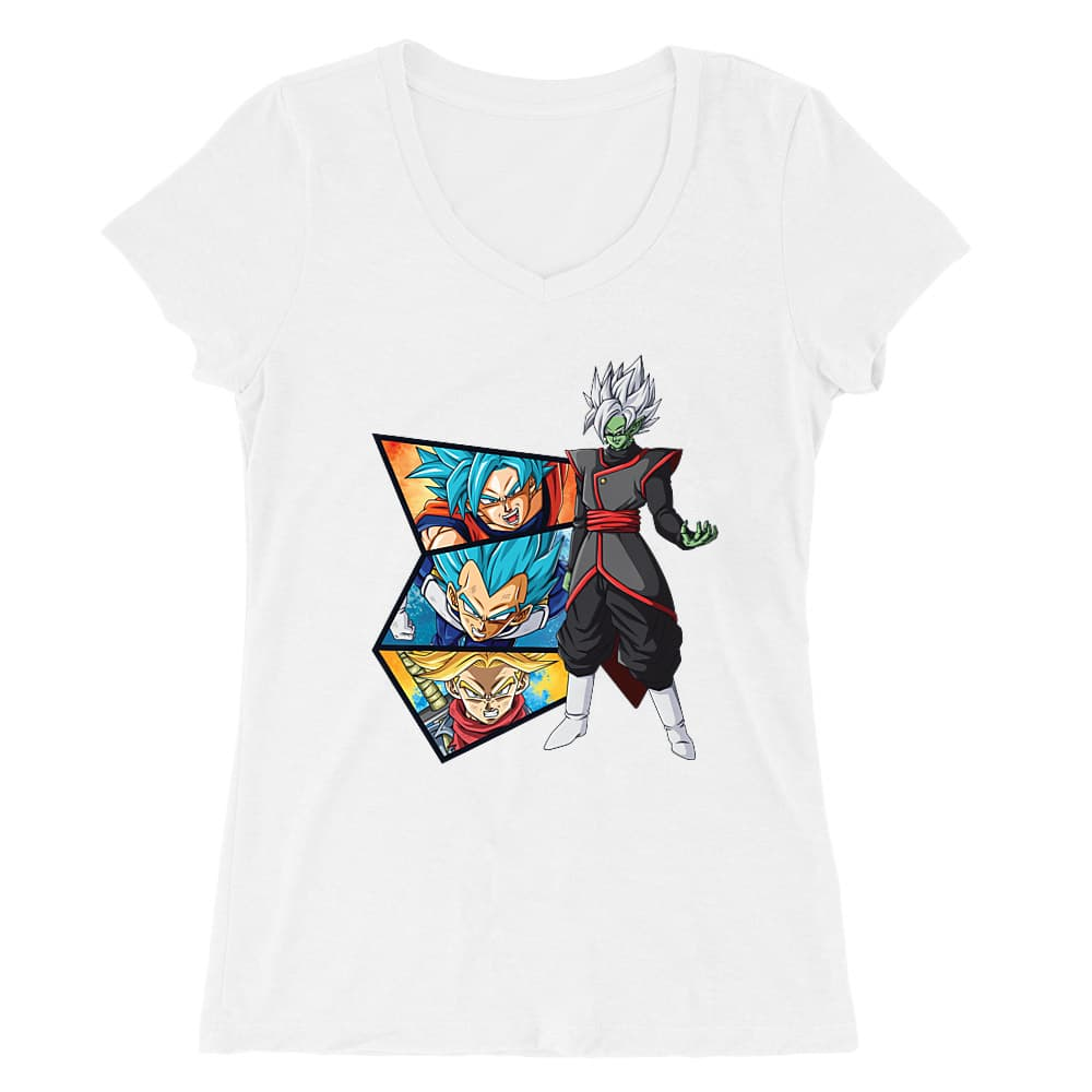 Dragon Ball Super Női V-nyakú Póló